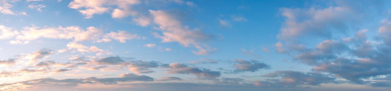 beautiful bright sky replacement panorama image