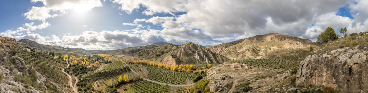Mountain Landscape  by Villanueva de las Torres in Andalucia Spain