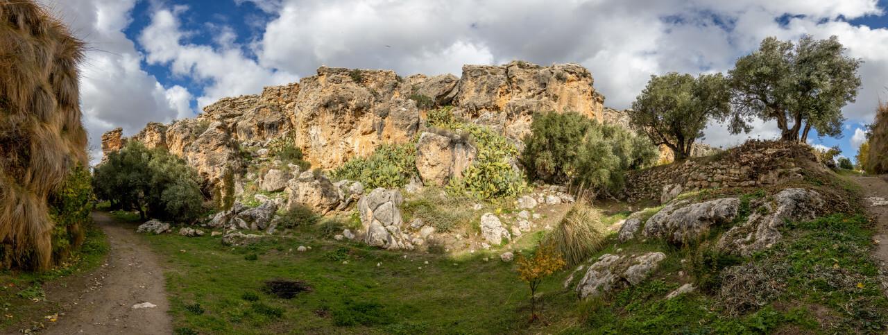 Villanueva de las Torres Analucia Mountain Landscape