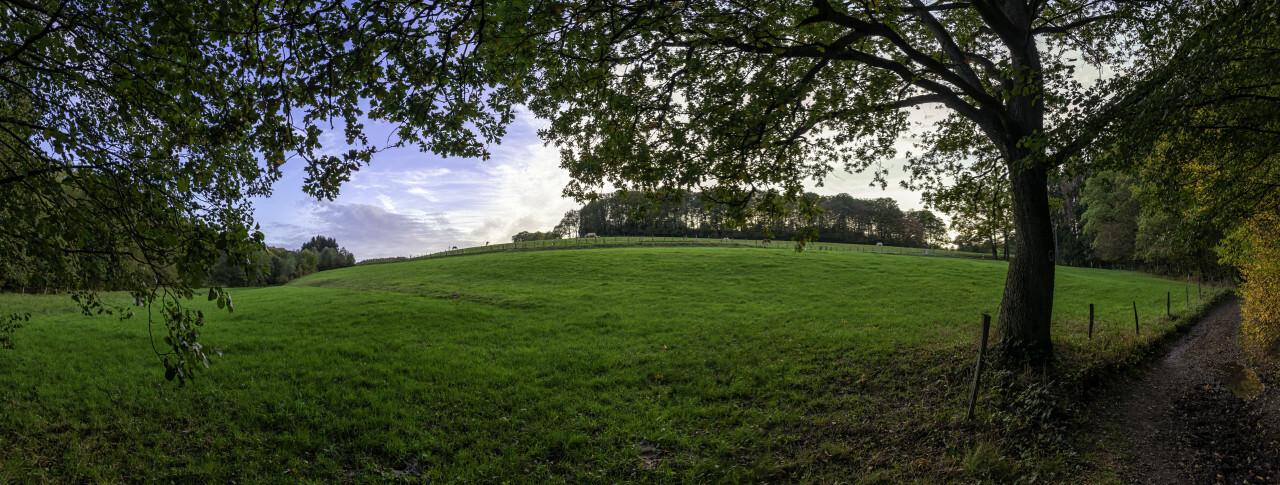german rural autumn landscape marscheider bachtal in nrw