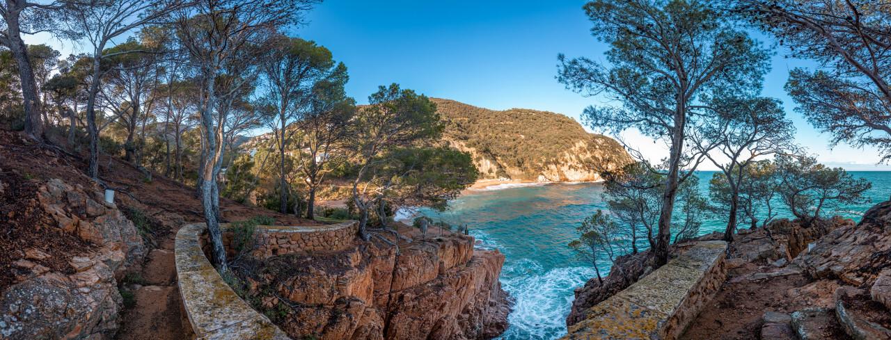 Coast of Canyet de Mar