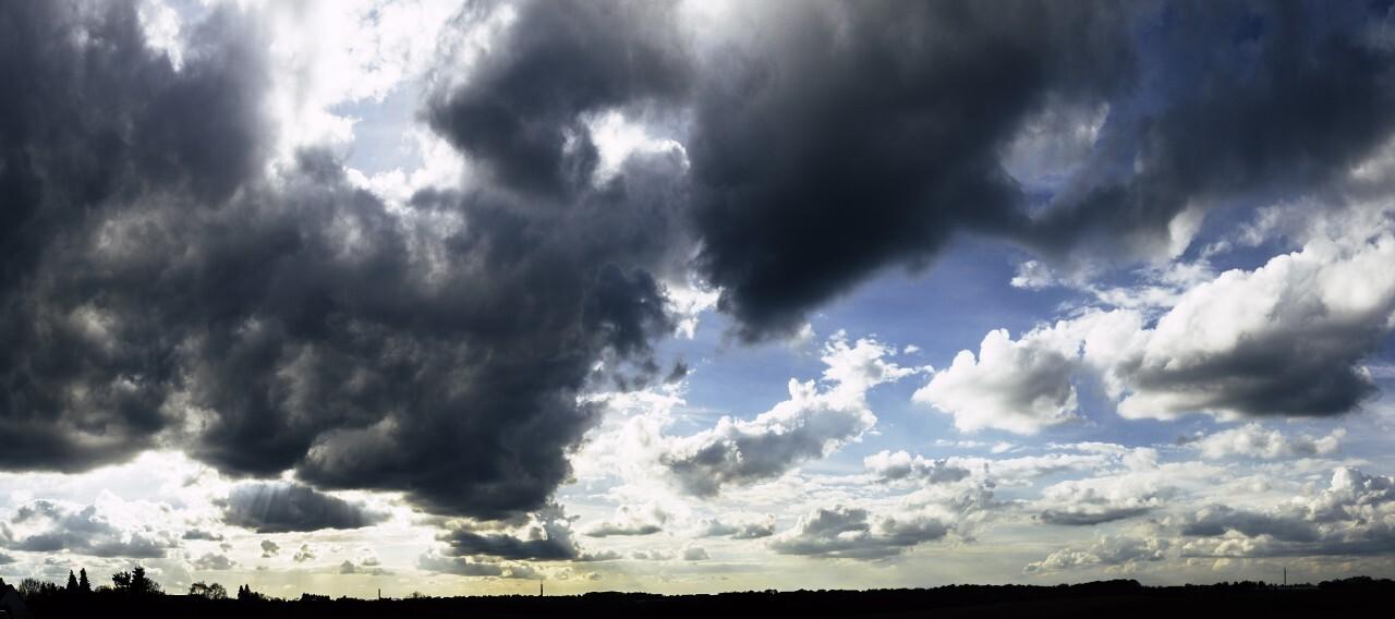 super panorama cloud sky