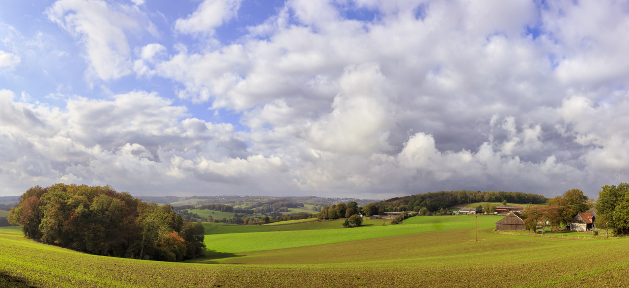 German rural autumn landscape