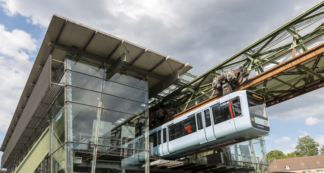 wuppertal monorail station westende