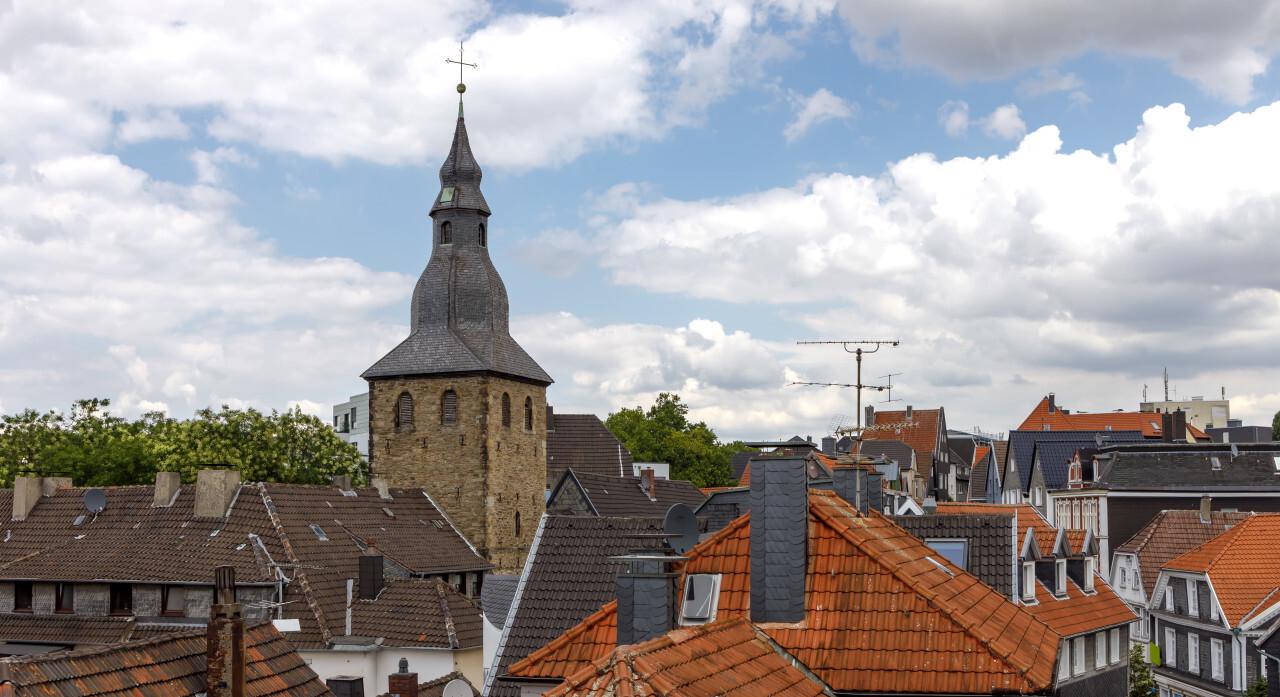 Hattingen in North Rhine Westphalia by Germany