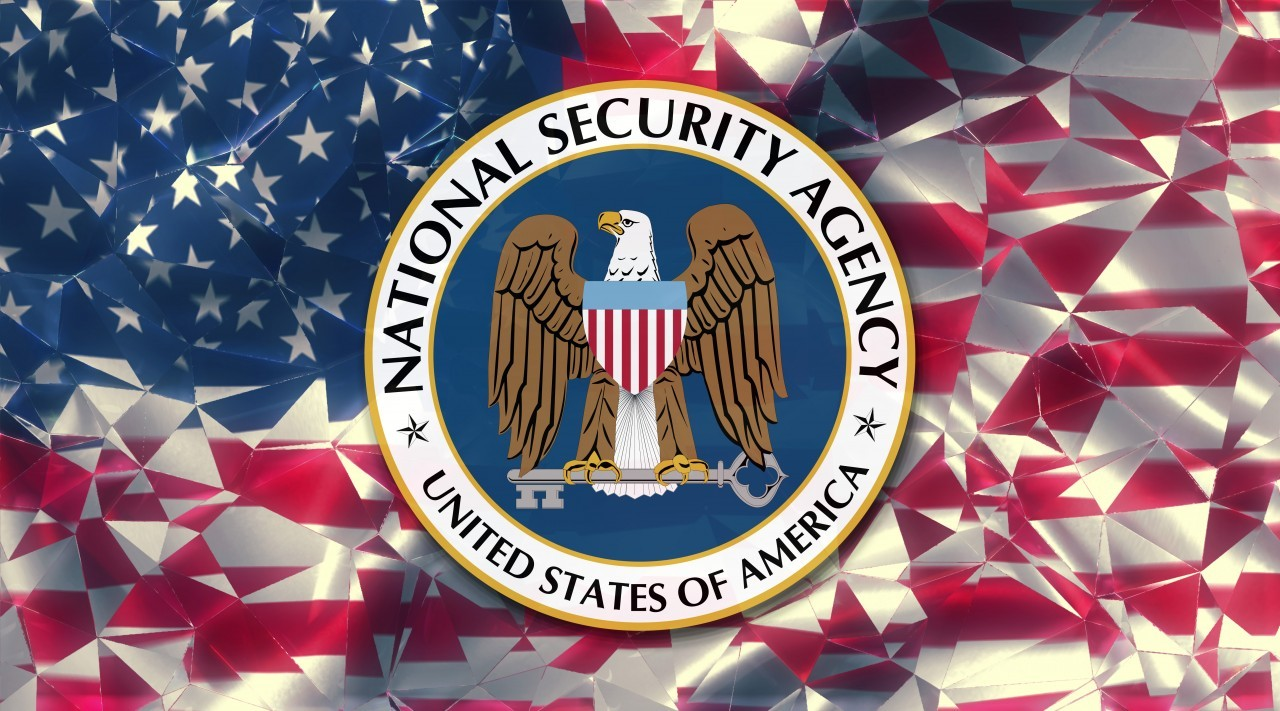 flag of the us national security agency country symbol illustration (NSA)