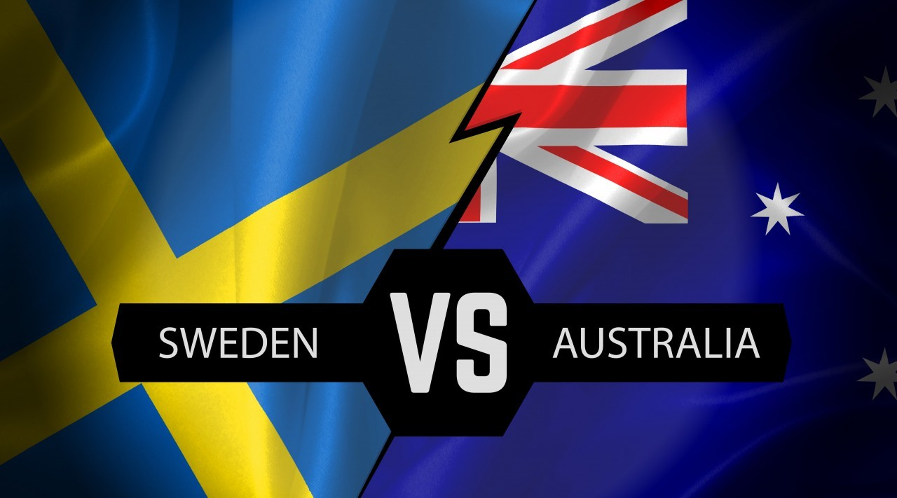 sweden vs australia