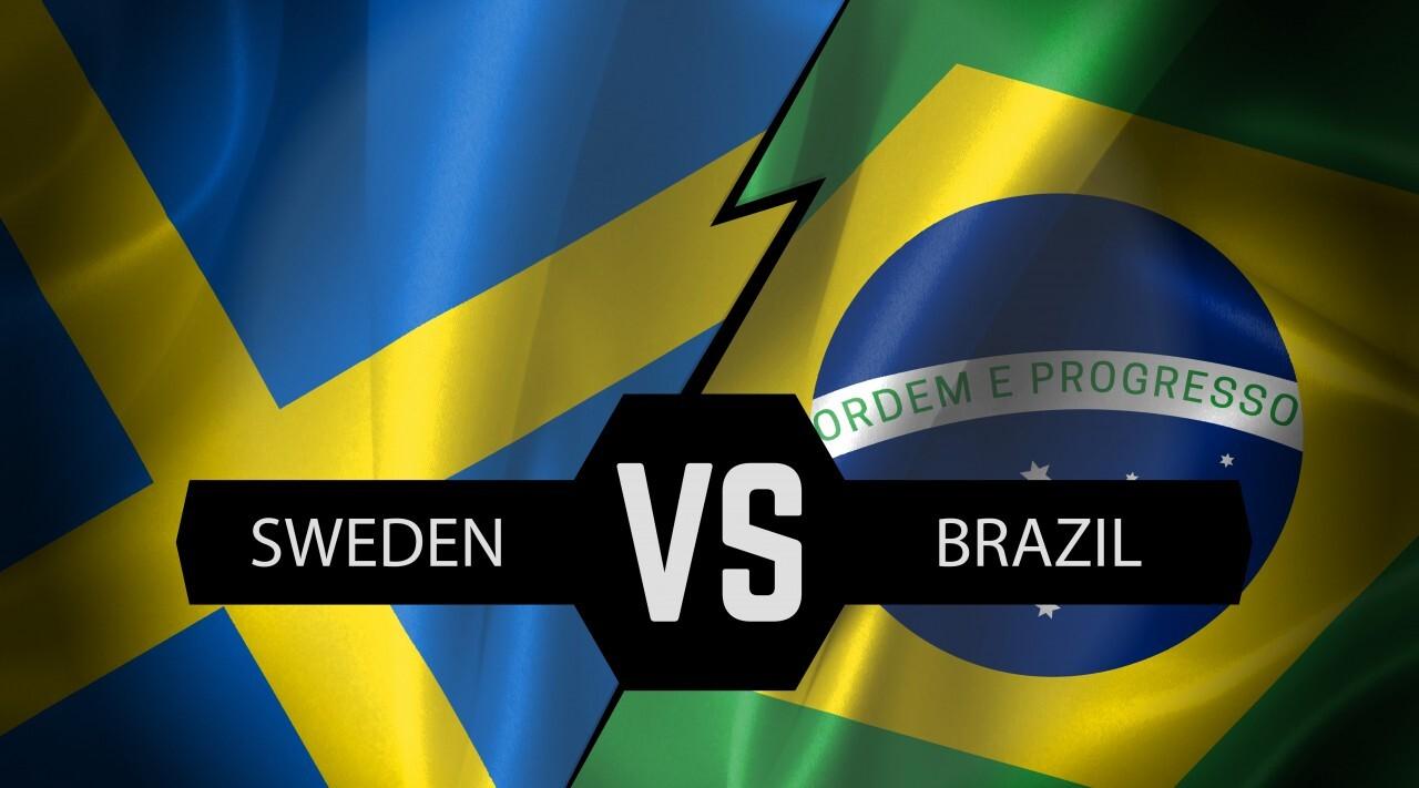 sweden vs brazil