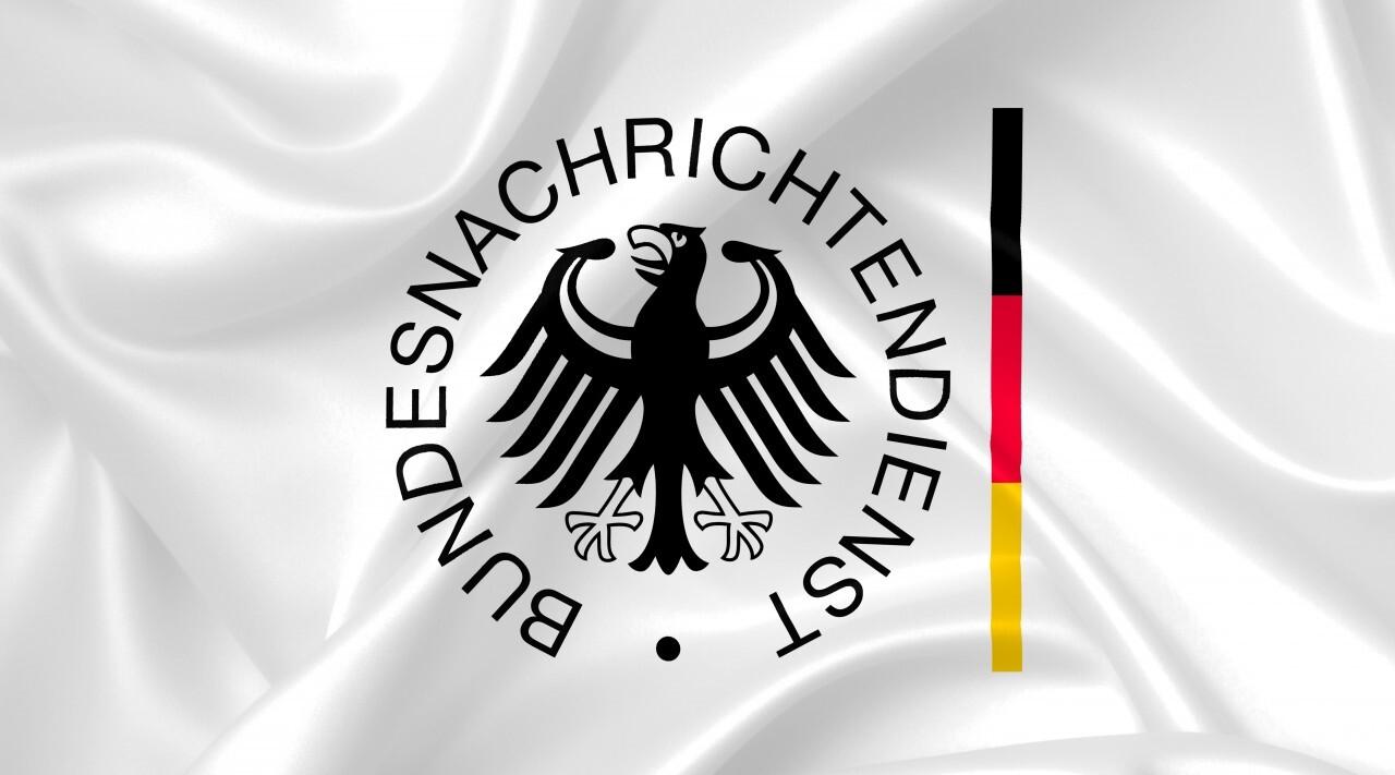 BND Bundesnachrichtendienst logo German secret service - country symbol illustration