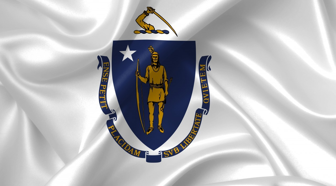 massachusetts flag