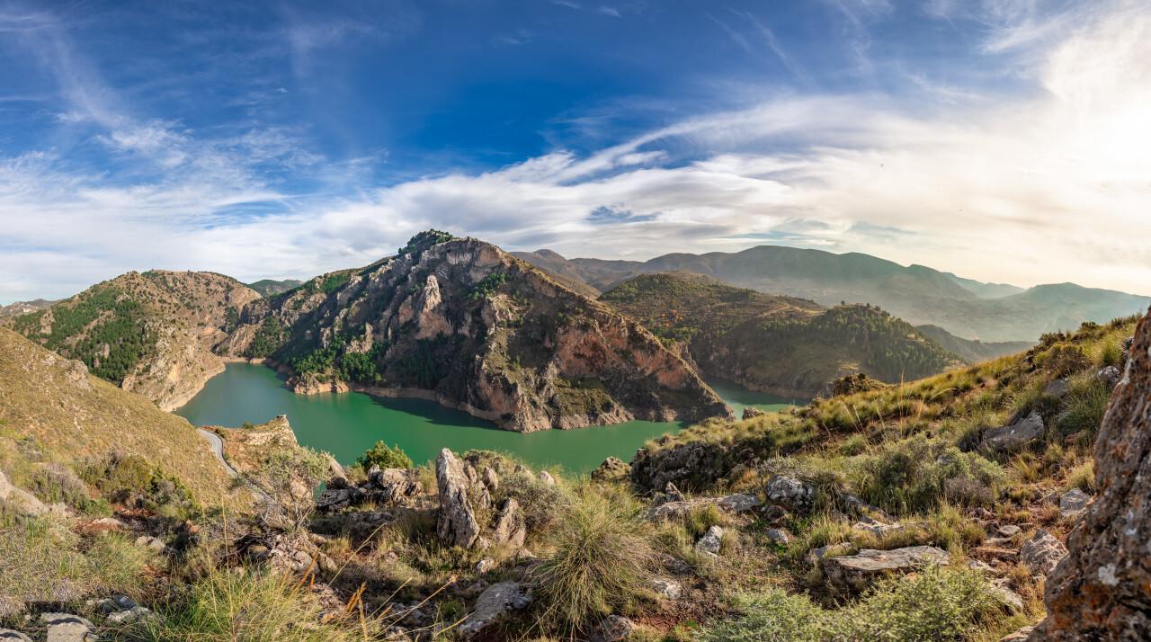 Quentar Park Landscape Andalucia Spain