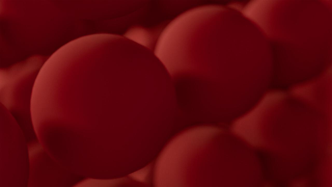 blood spheres background