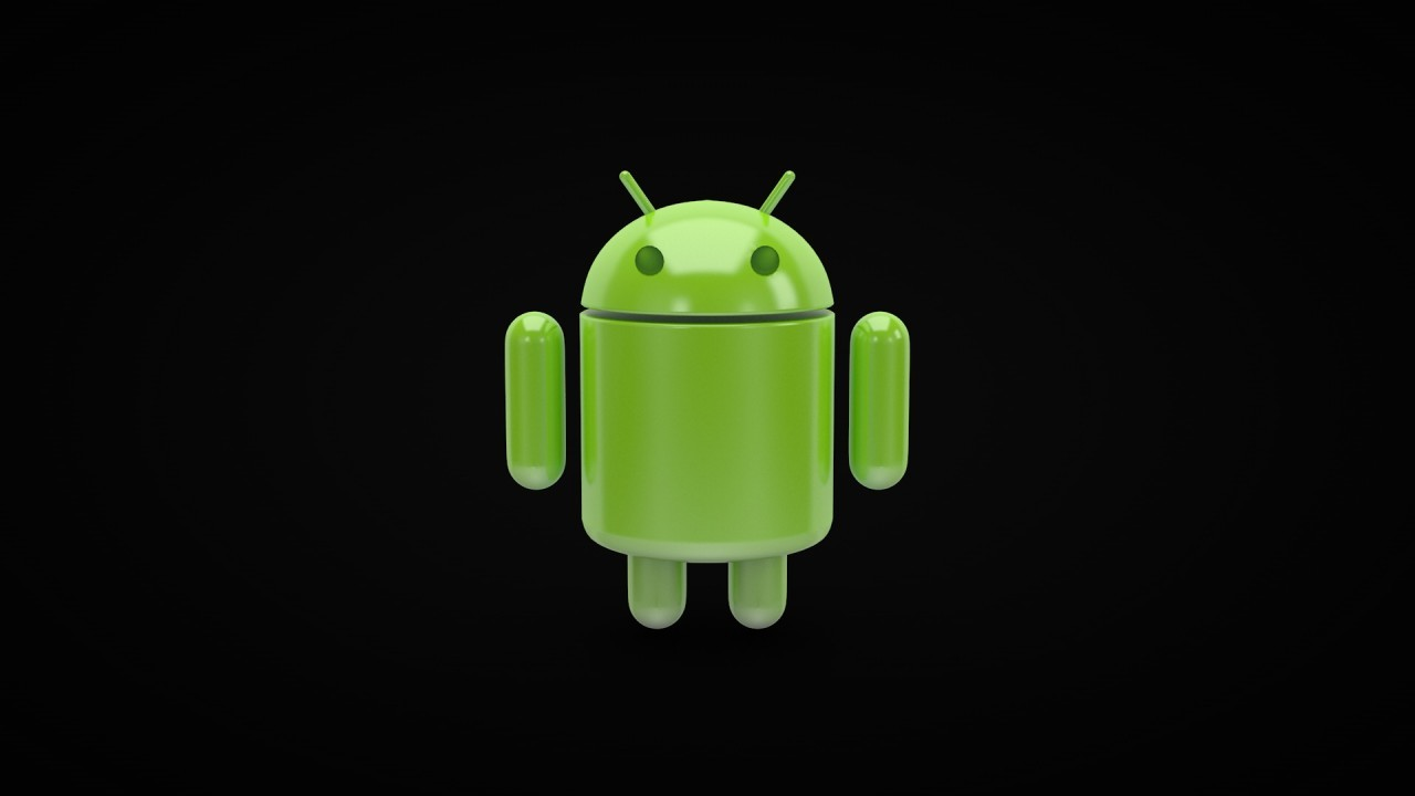 android black background