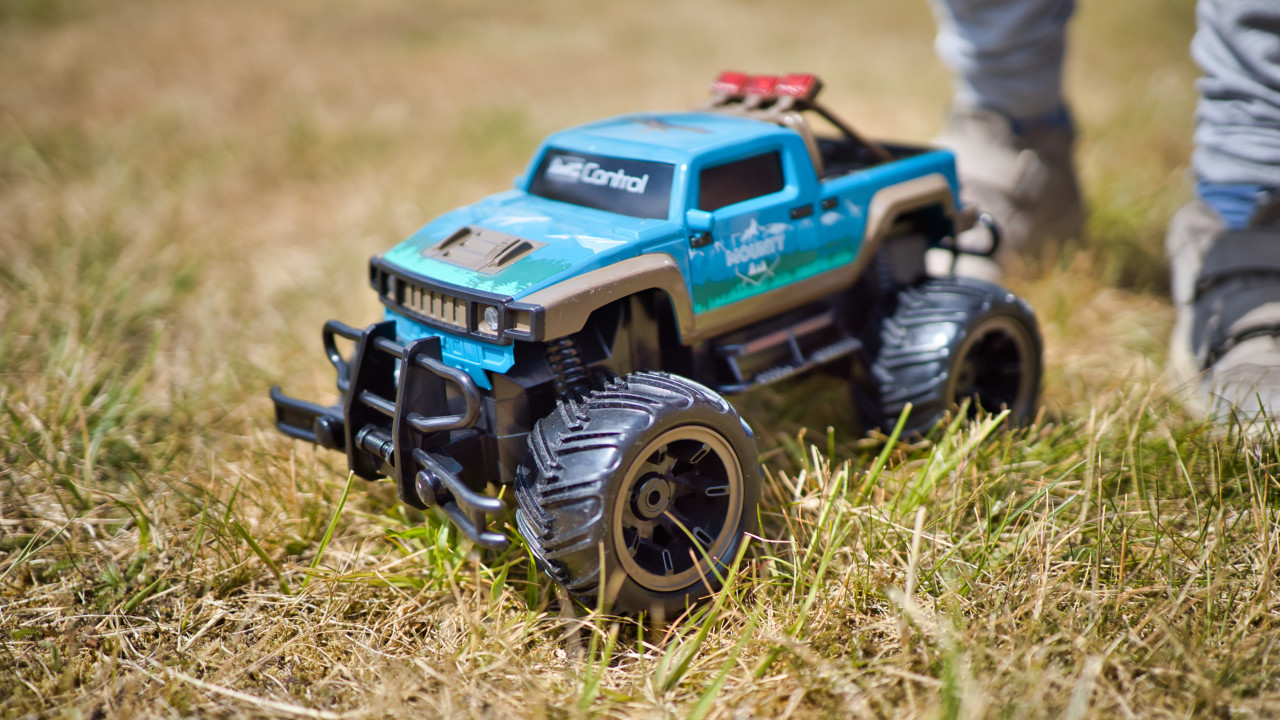 Remote controlled car for children