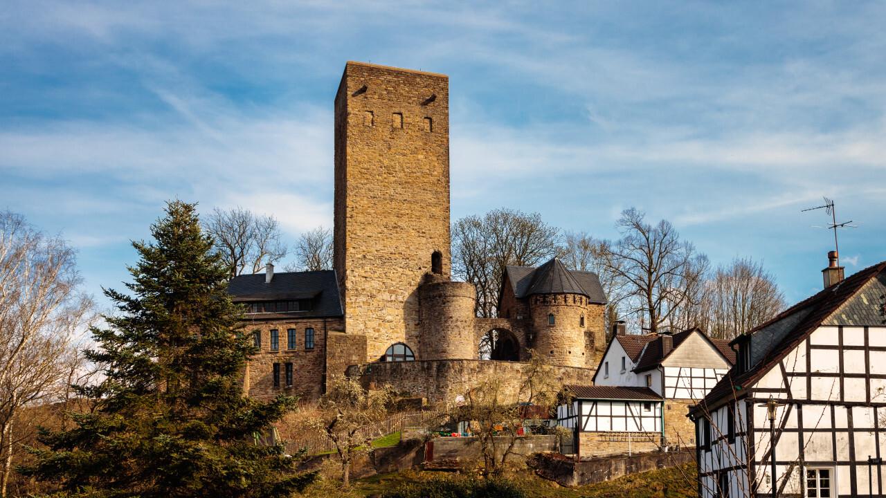 Blankenstein Castle in Hattingen