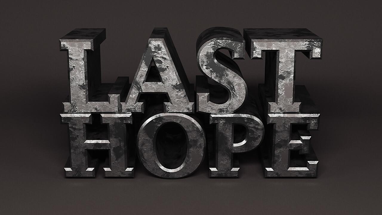 last hope iron word