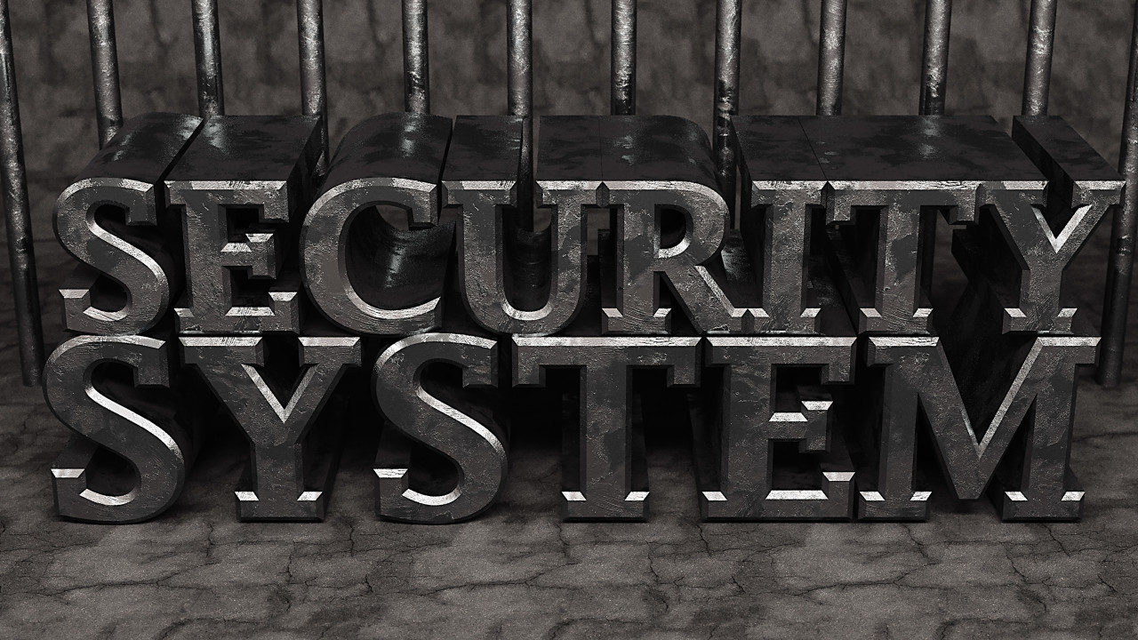 security system iron word