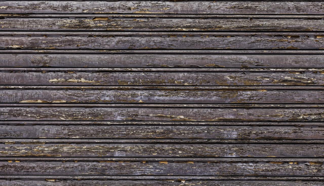wood planks paint peels off texture