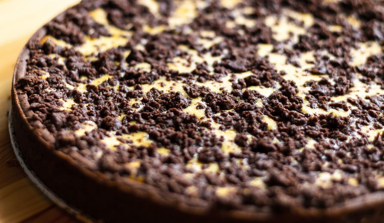 homemade crumble cake