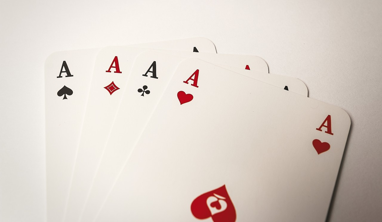 four aces card game
