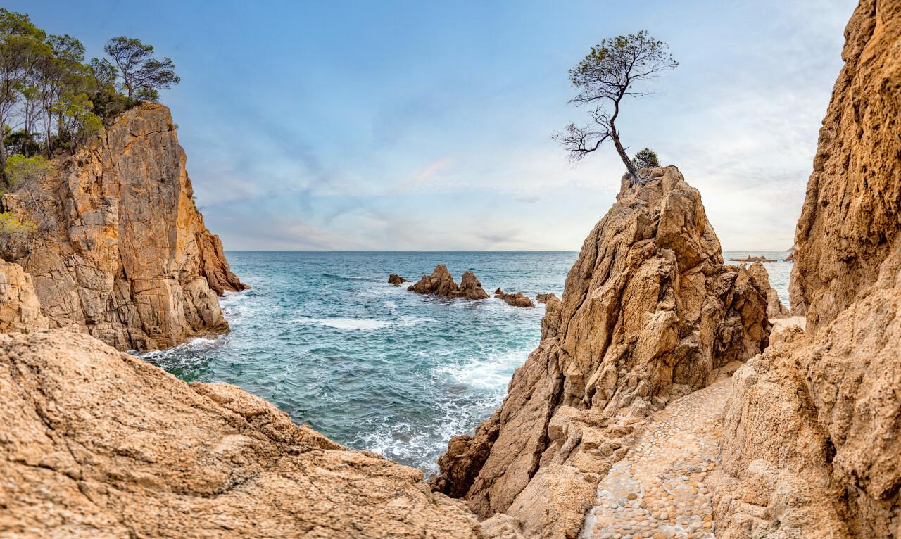 Canyet de Mar Balearic Sea Landscape