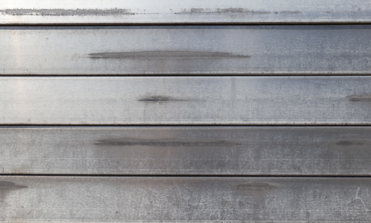 bright metal plank texture background