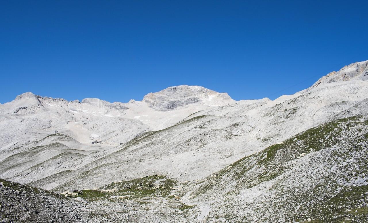 Alps dolomites in Italy