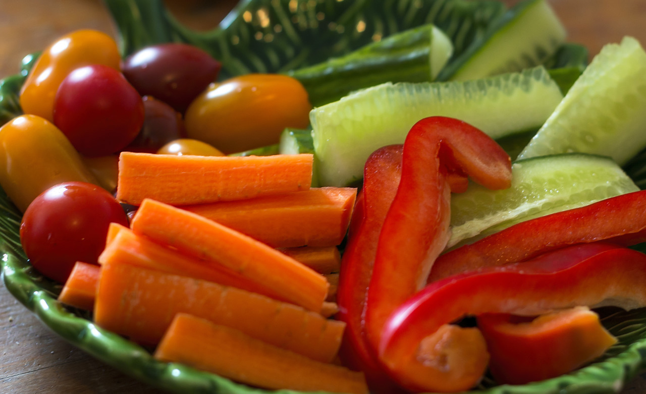 healthy and nutritious fresh vegetable dish