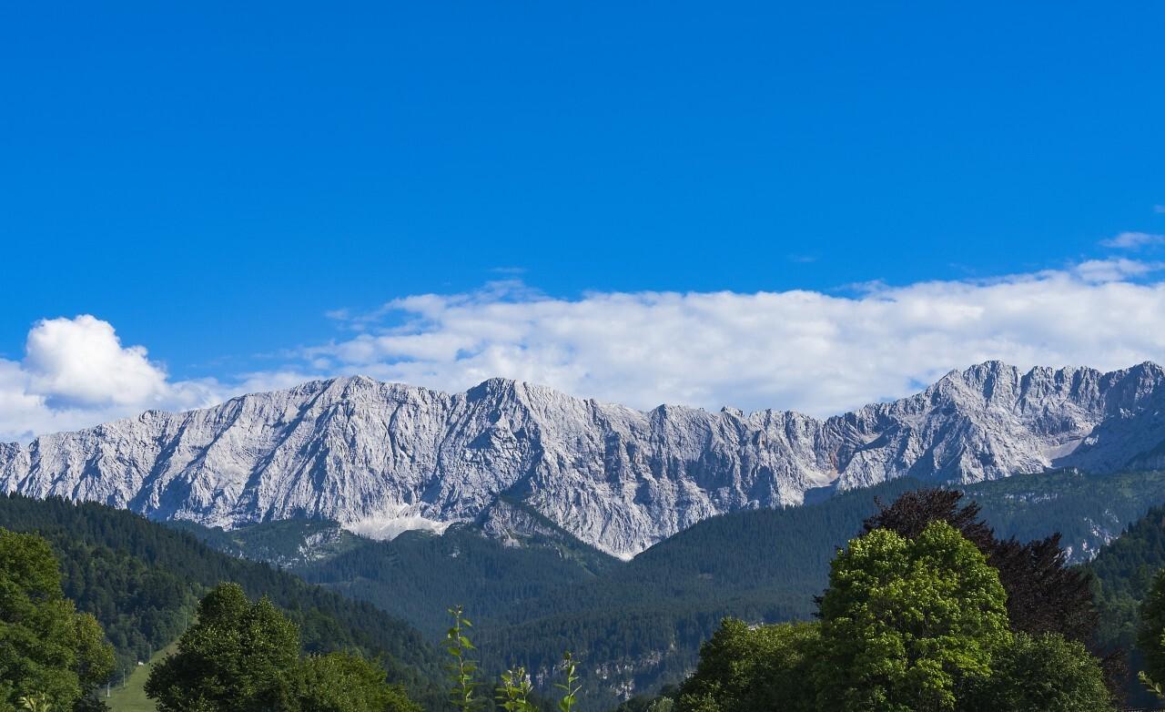 view on mountain