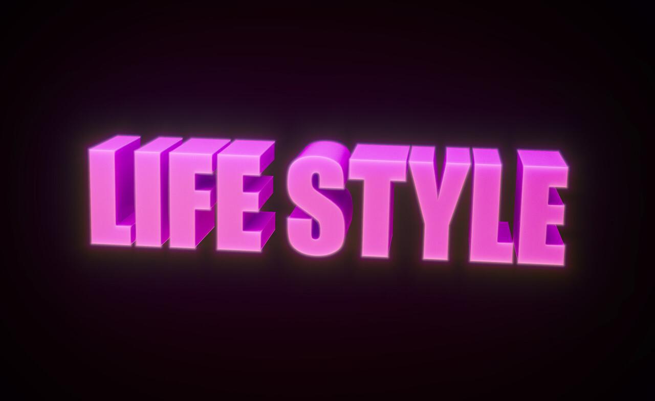 lifestyle text