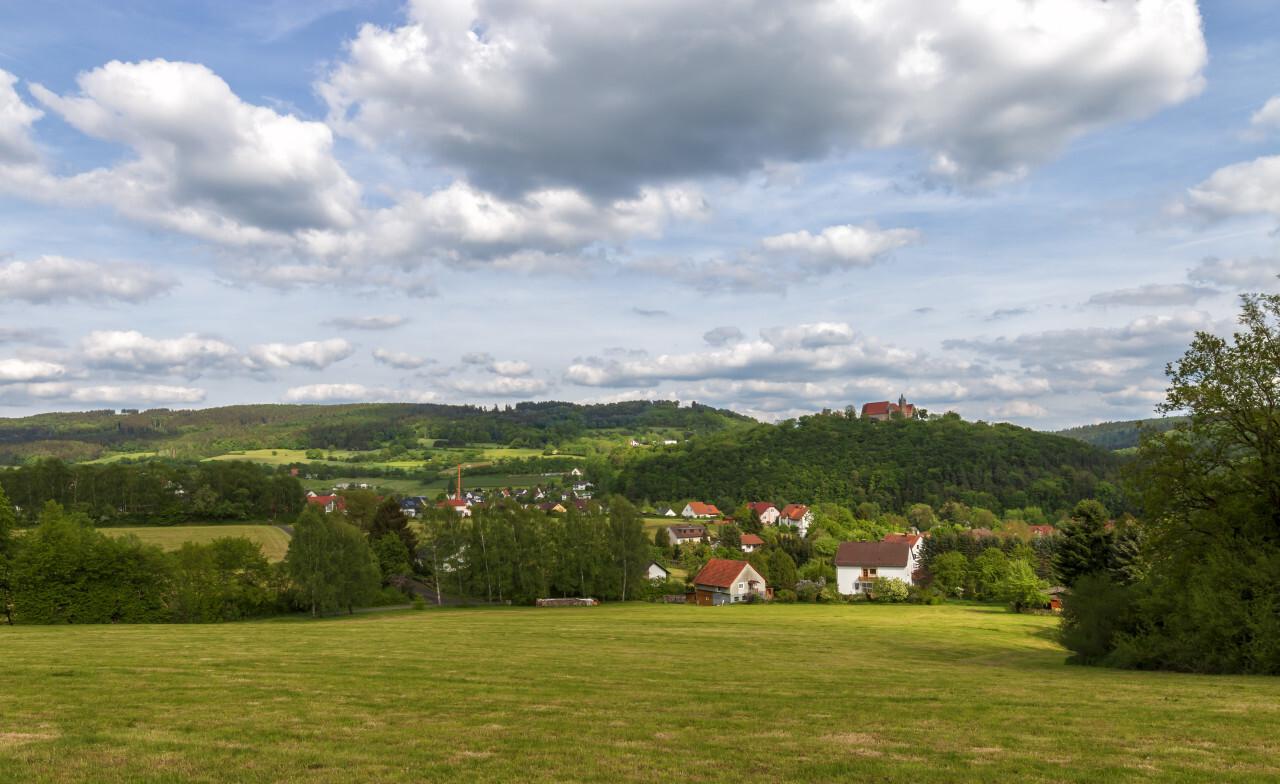 Melsungen by Kassel in Hesse, Germany - Rural Landscape