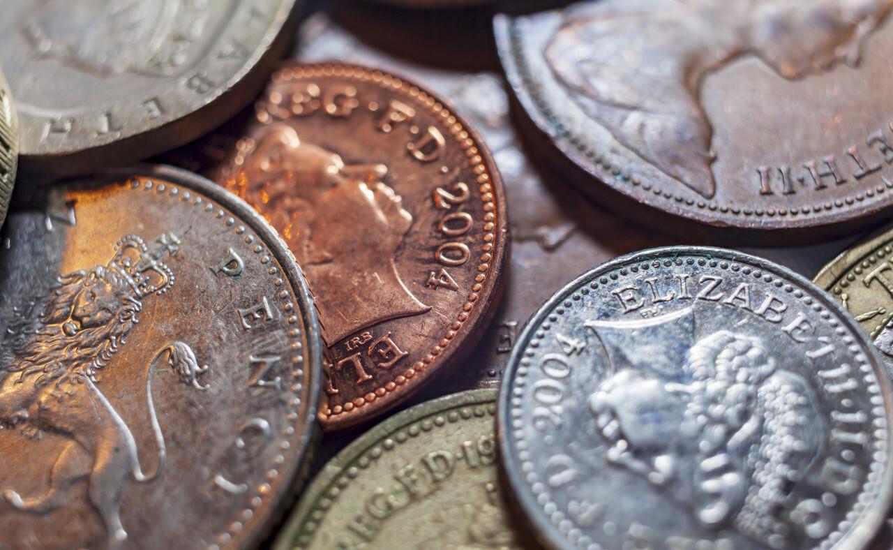 UK Pound Background