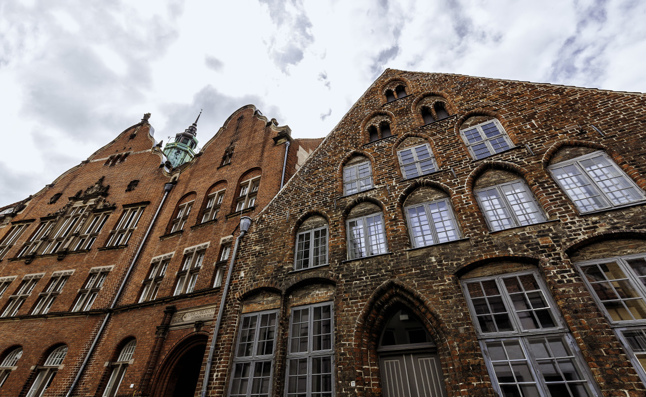 architectural detail in lubeck