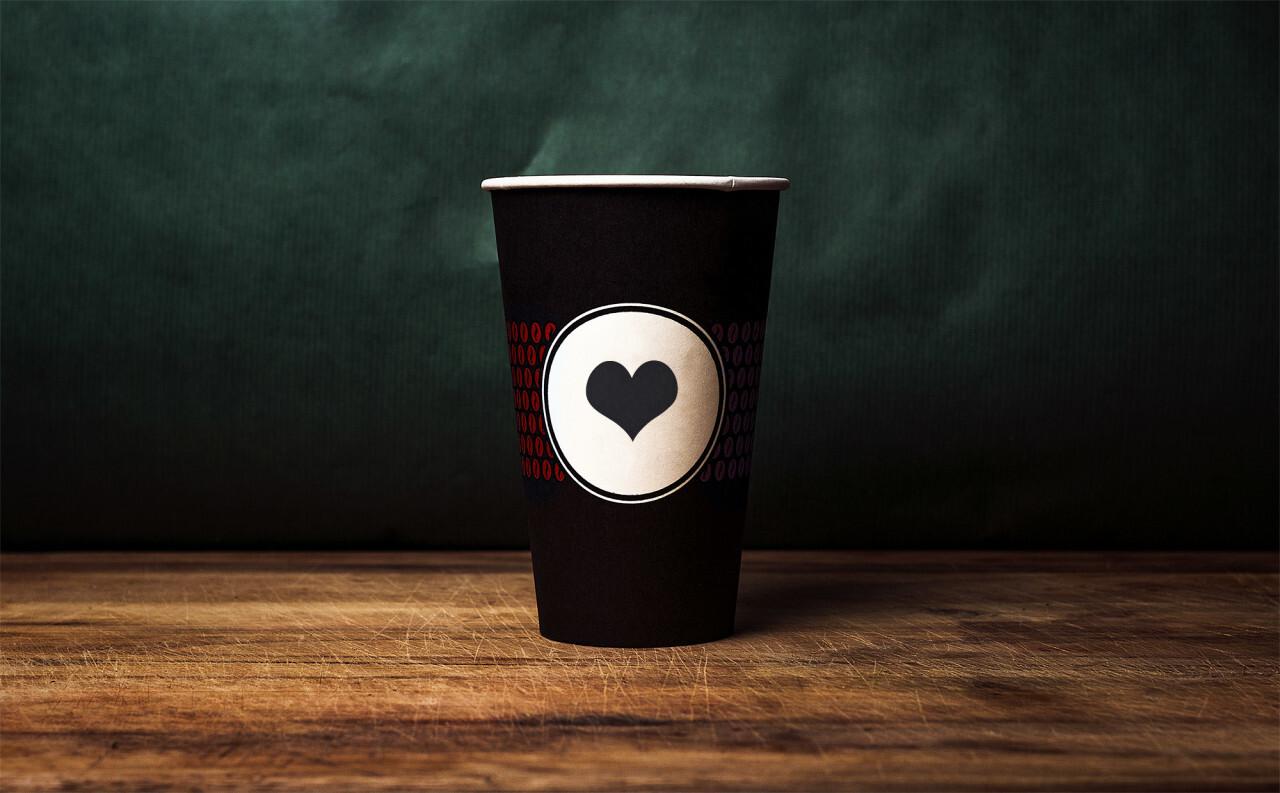 Coffee to go mug Mockup for Photoshop PSD