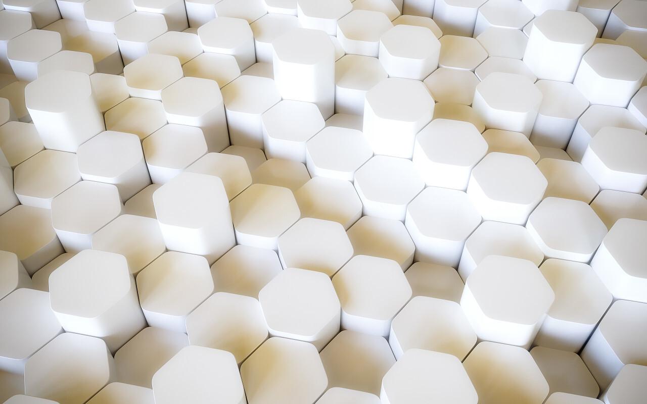 3D lozengo texture background white