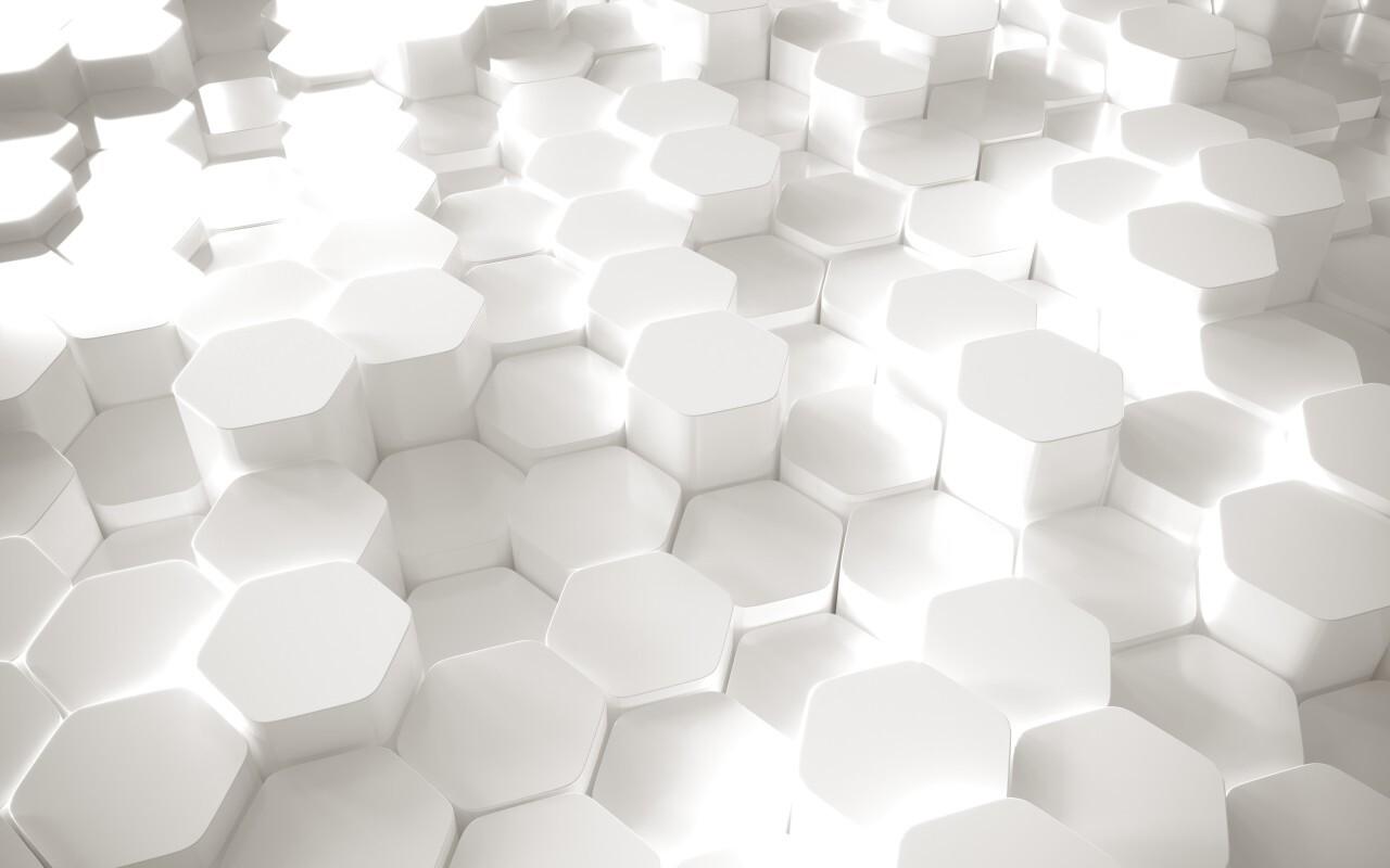 White 3D lozengo texture background