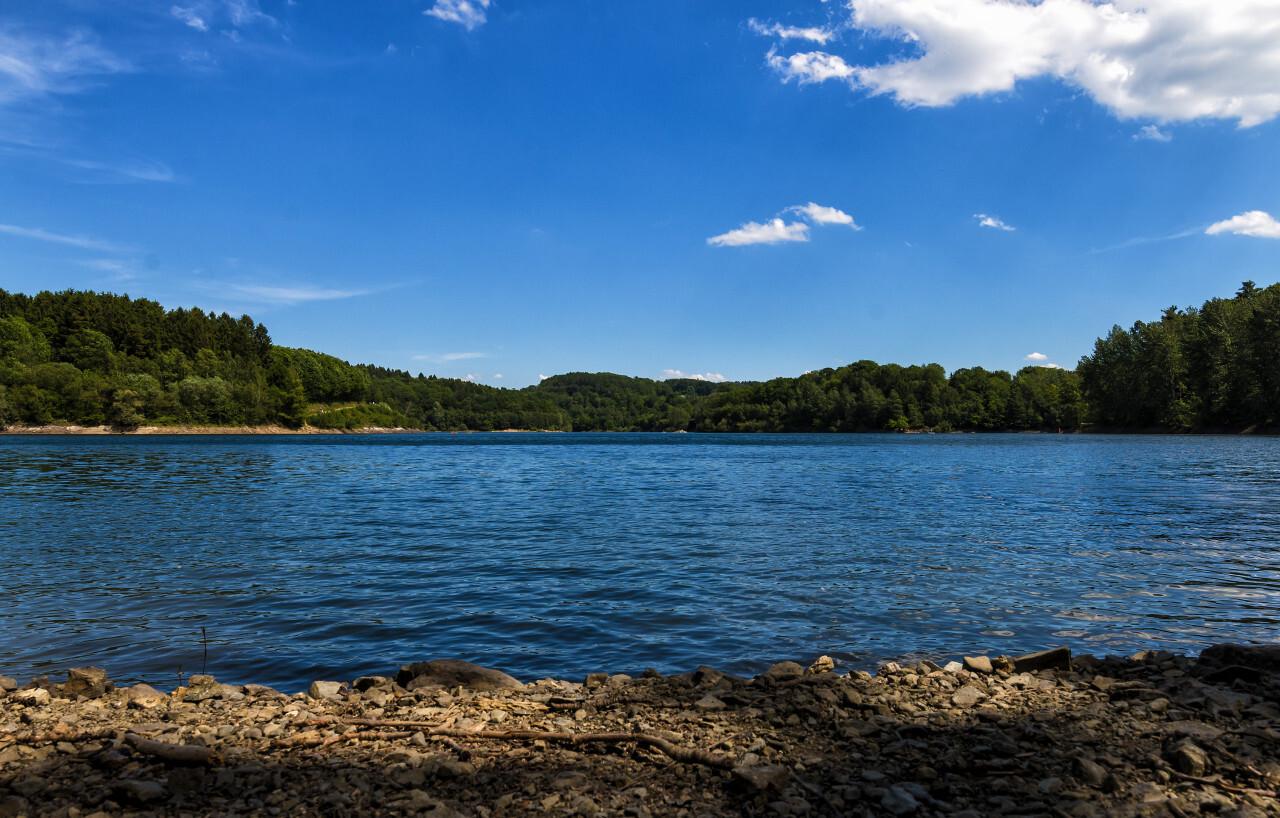 wuppertalsperre lake