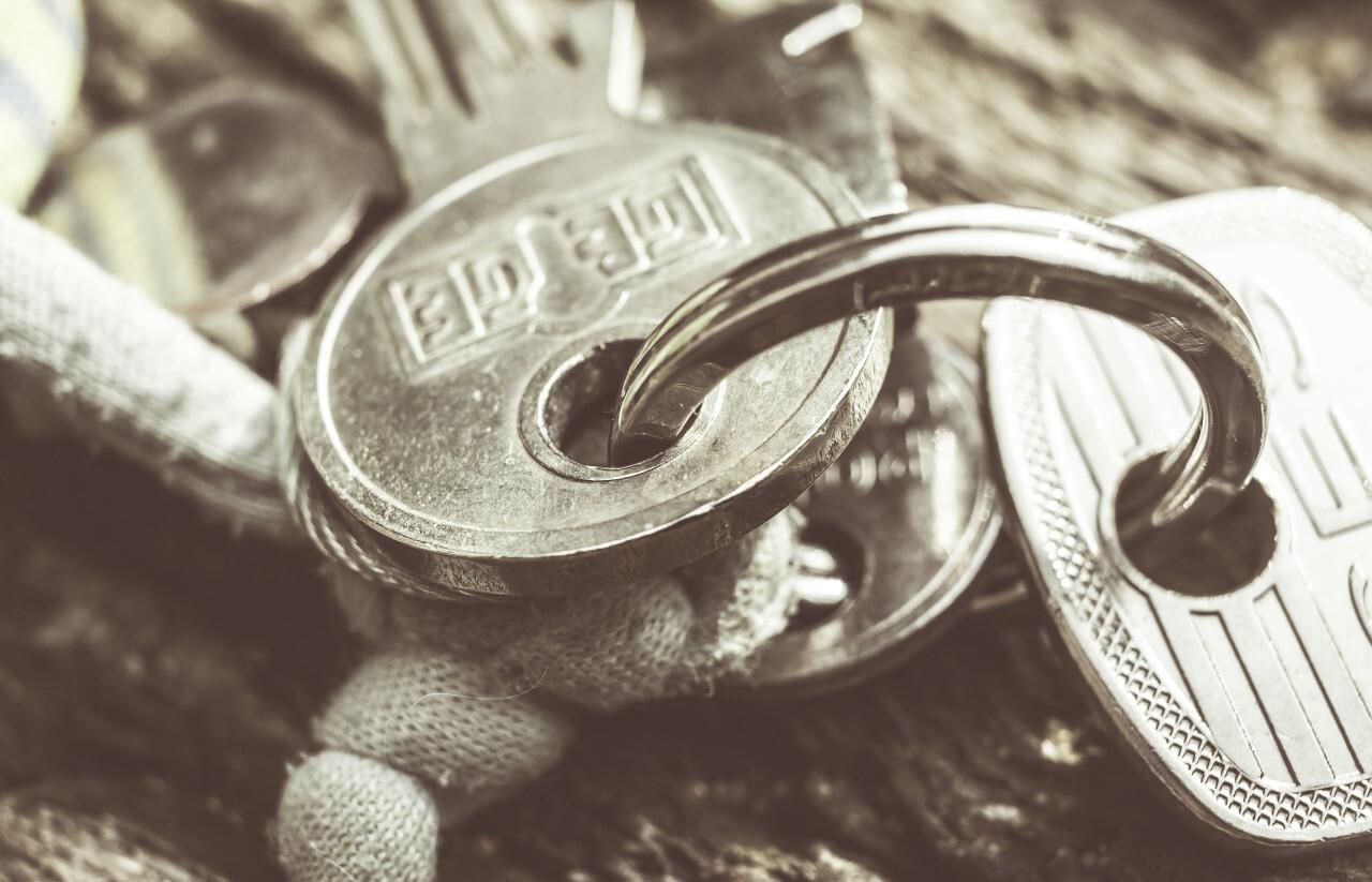 key ring and keys