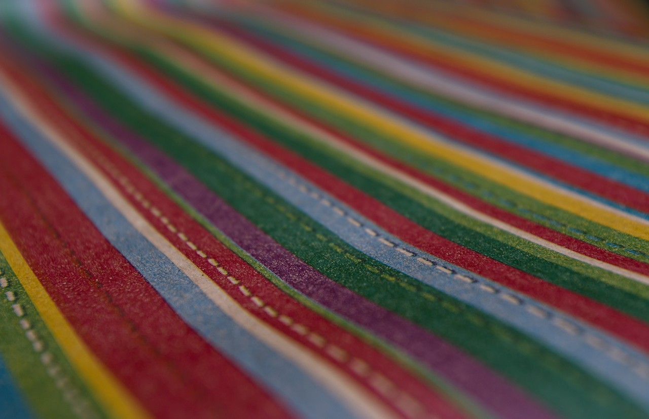 colorful stripes background wrapping paper