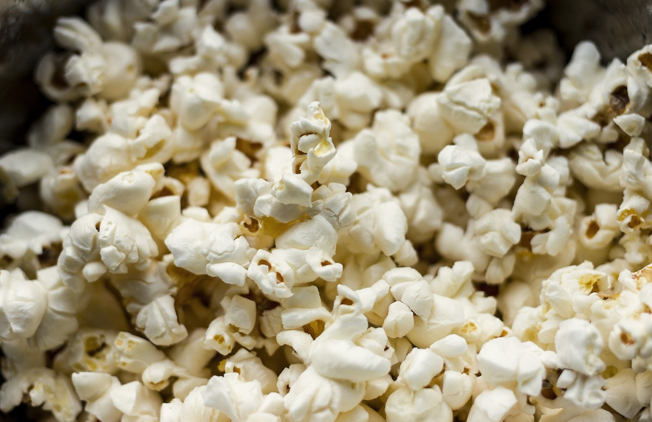 Corn popcorn texture