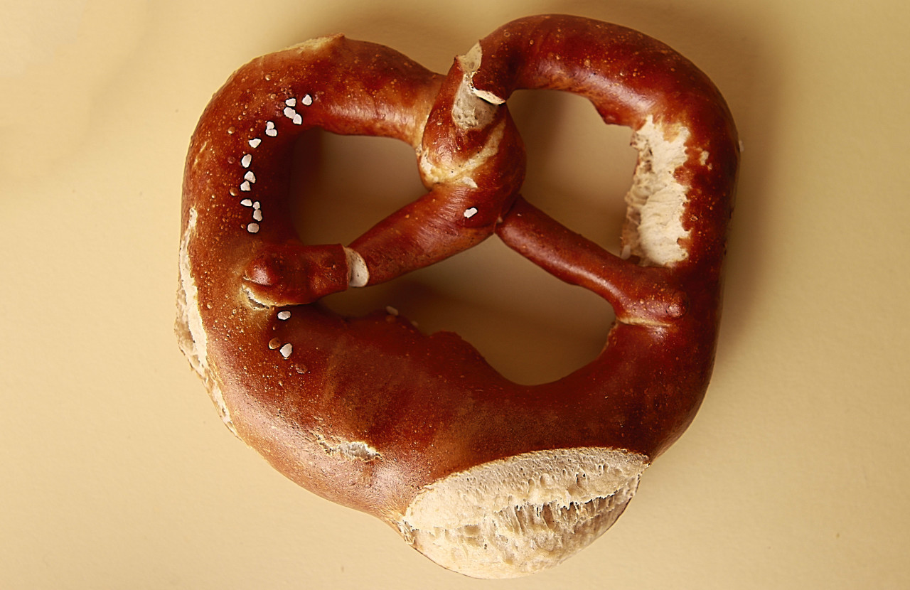 pretzel from above