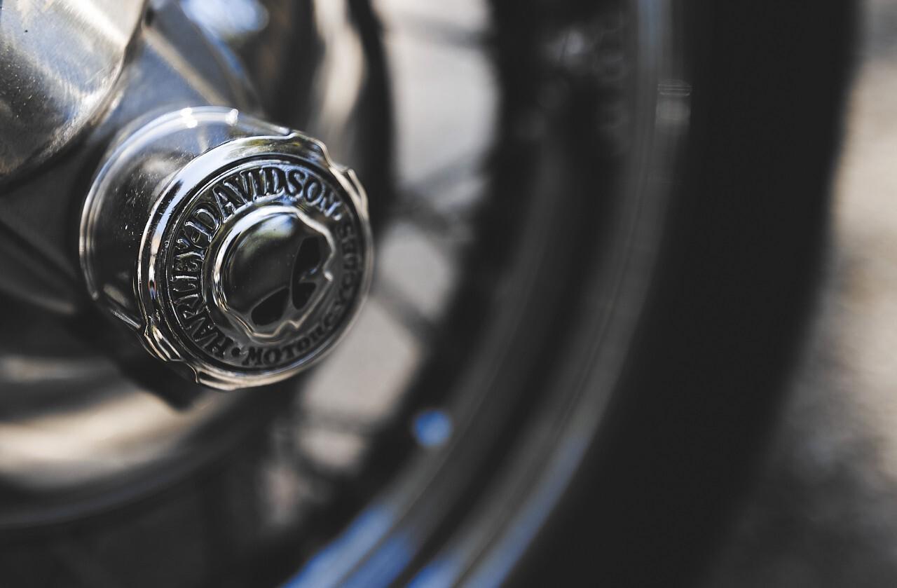 motorcycle wheel skull