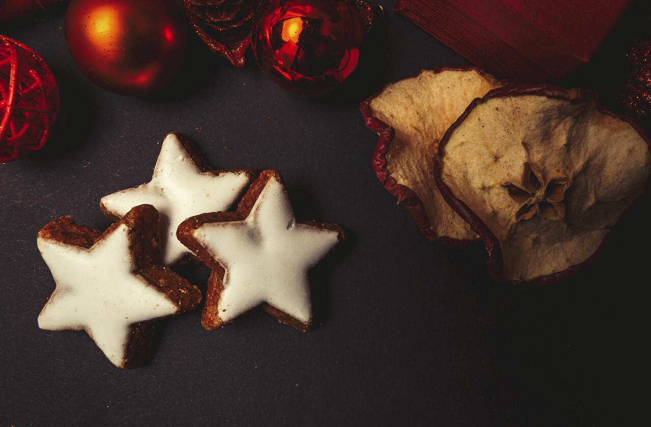 Christmas cinnamon stars