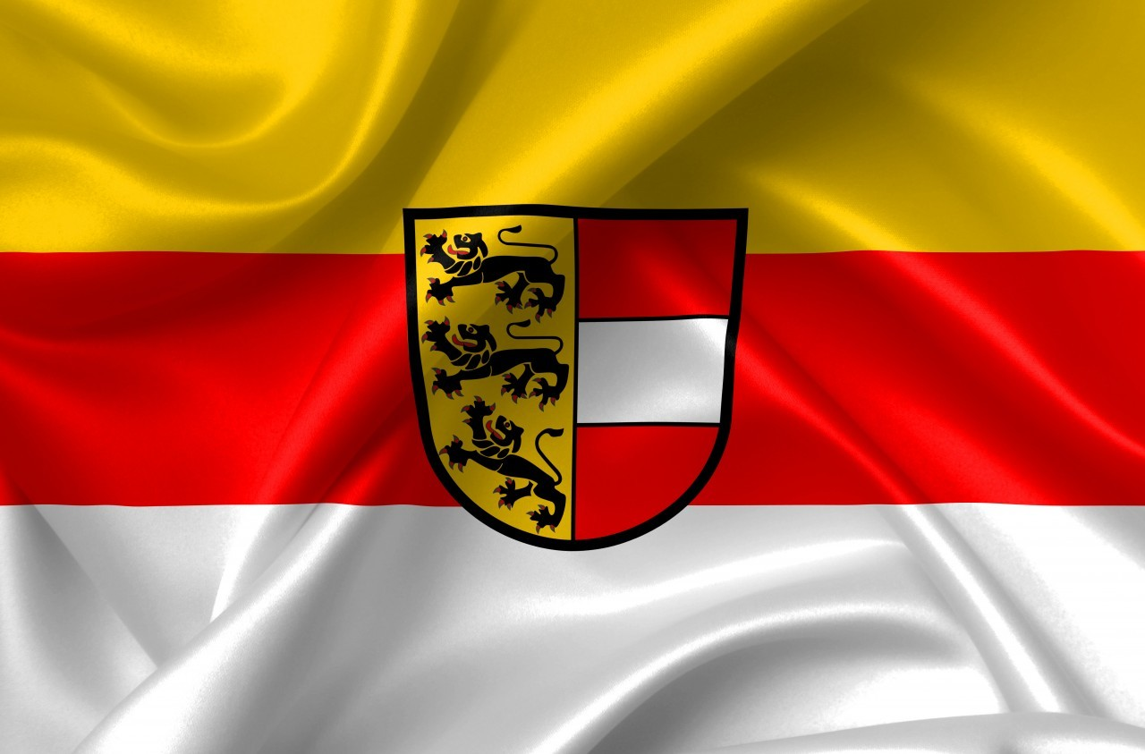 flag of the state of carinthia austria country symbol illustration
