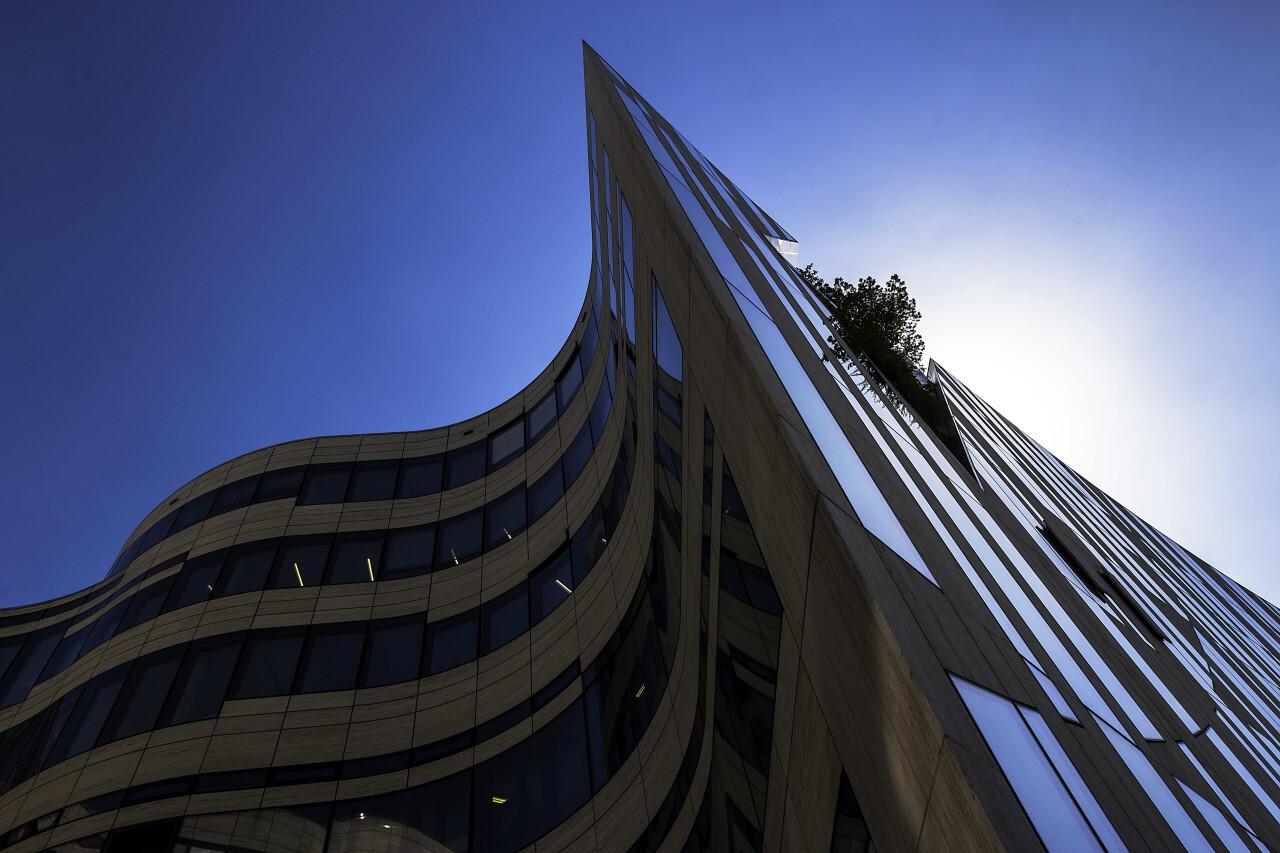 beautiful modern architecture building