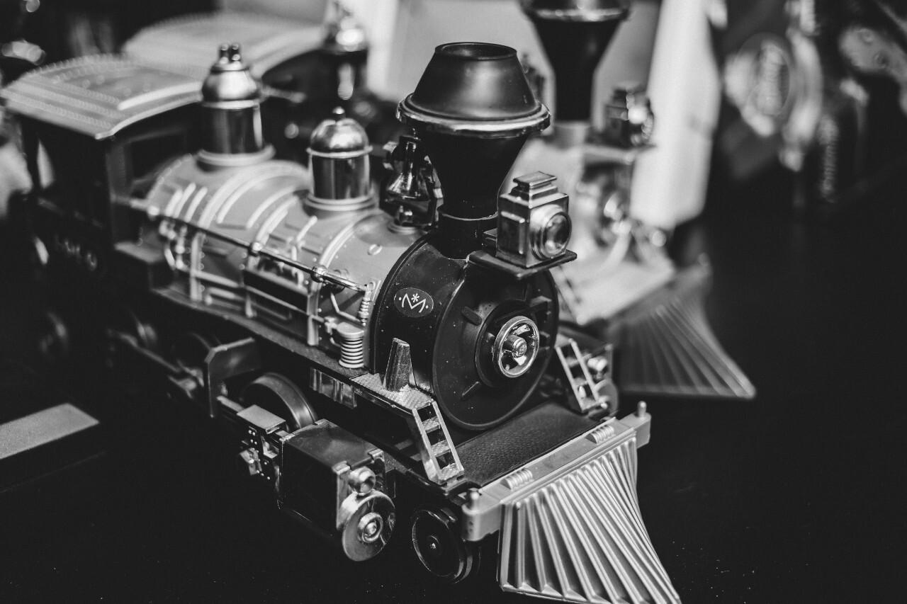 vintage toy trains