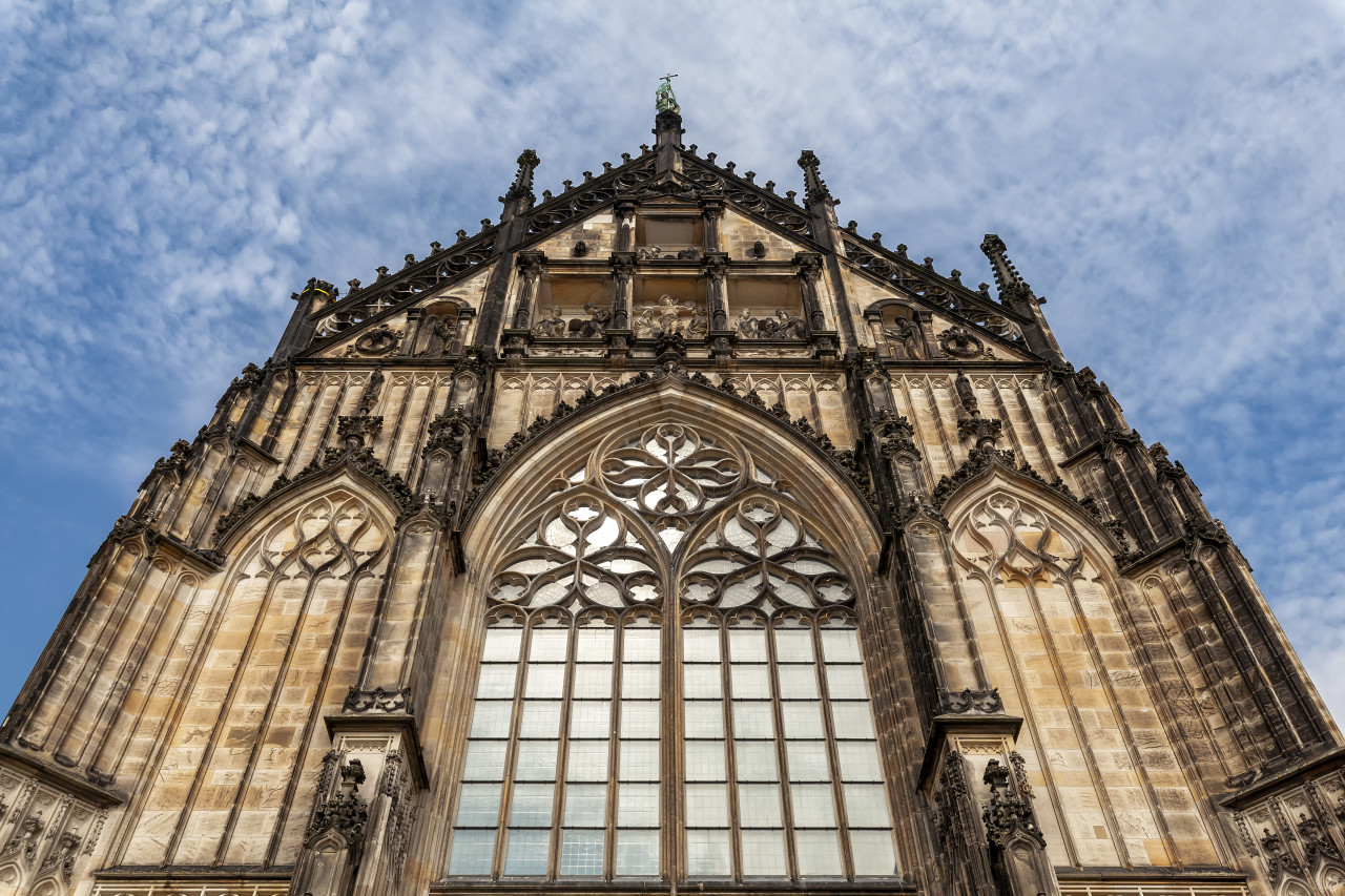 St. Paulus Dom in Münster - Cathedral, North Rhine-Westphalia by Germany
