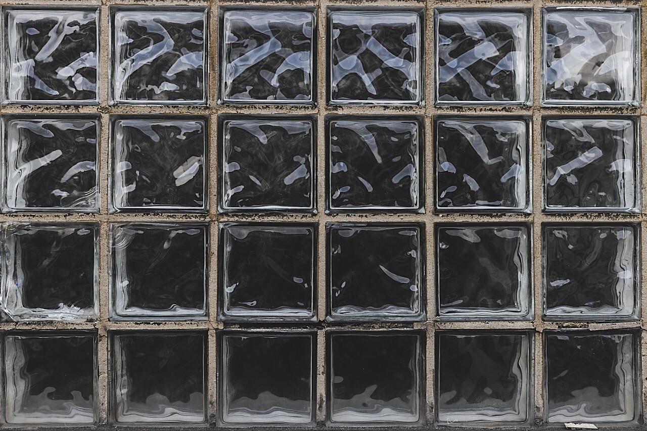urban glass brick texture background