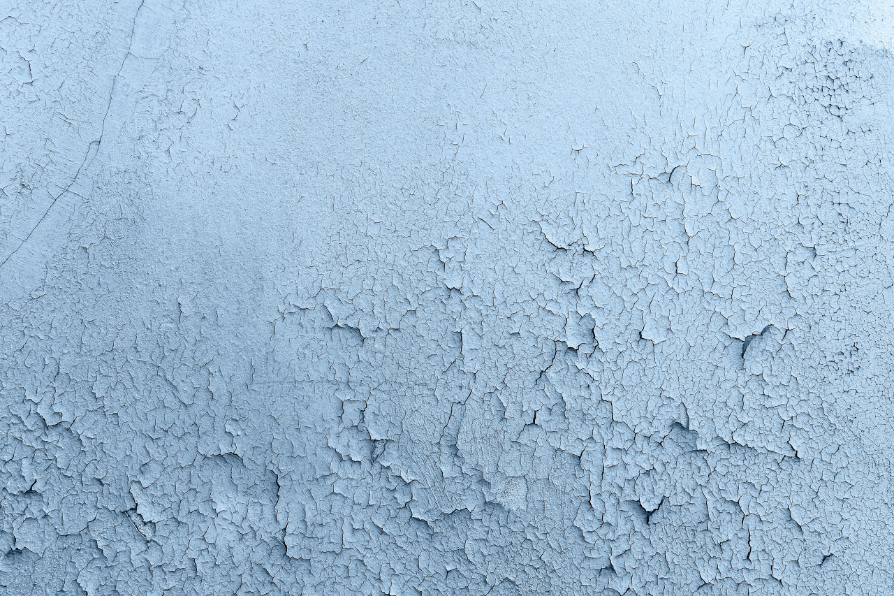 decorative abstract grunge blue wall background