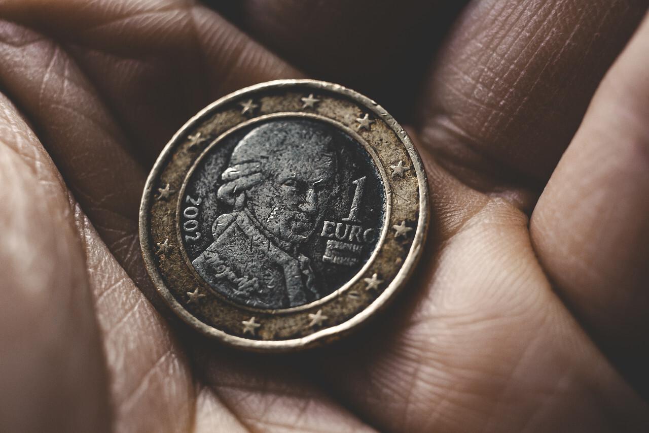 austrian 1 euro coin 2002
